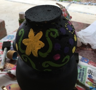 yellow flower side
