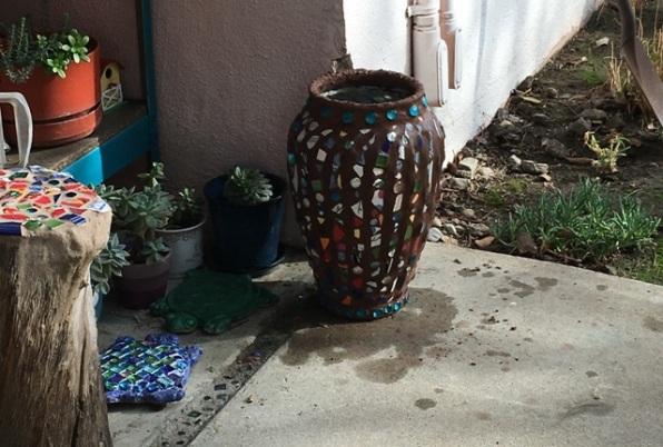 chocolate vase