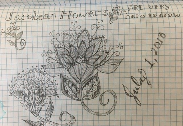 july 1 flowers
