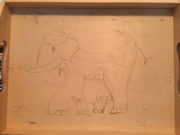 beginning elephant