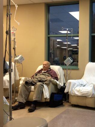 at chemo