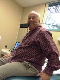 goofing around at dr 2